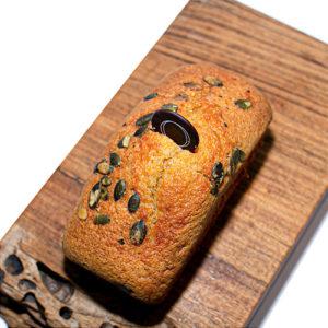 Cake aux graines de courge